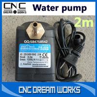 1pcs water pump Engraving machine spindle motor cooling pump 2m Circulating water pump for spindle motor CN804