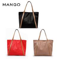 Mango spring and summer handbag one shoulder female bags shopping bag , mng , soft surface Free Shipping