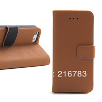 High Quality Luxury Retro Series Smart Stand Flip PU Leather Case for iphone 5c with Card Holders Free Shipping