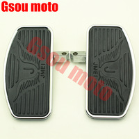 FREE SHIPPING Brand New FRONT Footboards Floorboards Set For KAWASAKI 400/800 Vulcan VN400 VN800 refit large pedal