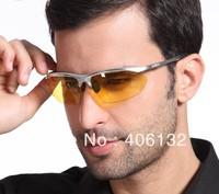 Good Quality Night Driver Glasses,Night Vision Goggles, Aluminum Alloy Frame Sunglasses, Cool Driver Polarized Sunglasses