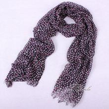 cheap black silk scarf