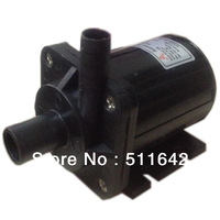 DC40-2470 Brushless Motor DC 24V 1A Magnetic Drive Centrifugal Submersible Water Pump 172GPH 7.0M 26.4W