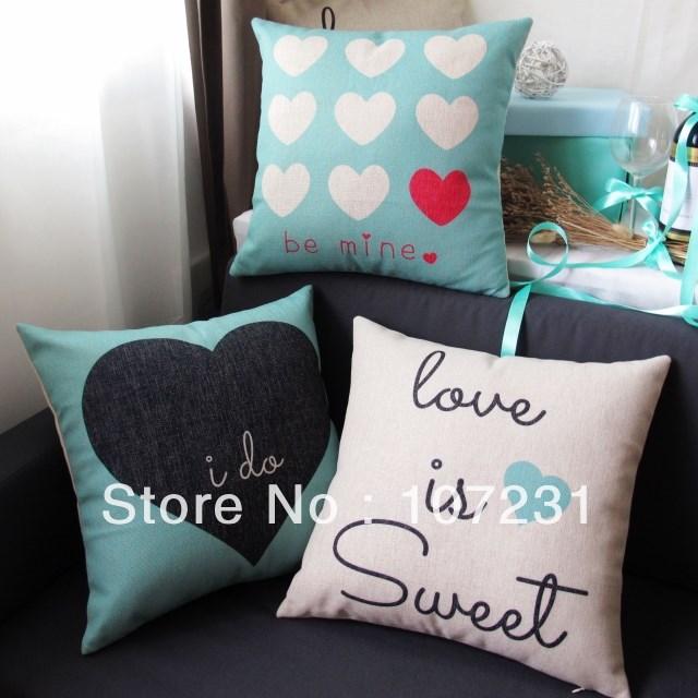 3pcs Lot Vintage Design 18 Quot 45cm Tiffany Blue Love Heart