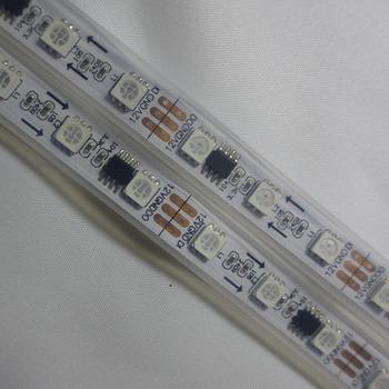 5M 60leds/m WS2811 IC/M 20pixels Digital LED Strip Light IP67 Waterproof 12V