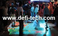 Low price Magic Interactive floor projection system for wedding, Interactive Floor Projector with 74 Effects