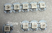 WS2812B led with heatsink(10mm*3mm);DC5V input;5050 SMD RGB with WS2811 ic built-in