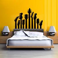 T581 стены наклейки музыка стены наклейки фортепиано ключевых черно-белой стены наклейки фортепиано танец