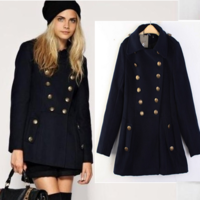 Autumn and winter women anti season wool coat outerwear Y76