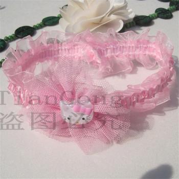(Min order $10) Free shipping Skin infant children baby ribbon Lace ribbon bow  headdress hair headband