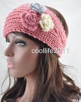 10pcs/LOT Fashion Women Lady Headband Hair band women Knit crochet Headwrap