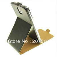 Galaxy Note 3 Flip Leather Case, Real Leather Pouch Case with stand  For Samsung Galaxy Note3 N9000 N9005 Free Shipping