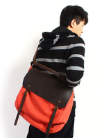 2014 crazy horse leather do old canvas bag men and women travel worn tide restoring ancient ways