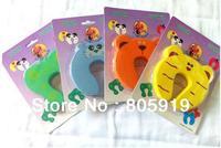 Free Shipping 4 PCS Animal Design EVA Door Stoppers Baby Safty Guard Kits