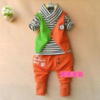 Male child autumn 2013 clothing 0-1 2 3 - - - 4 male child infant clothing clothes child set
