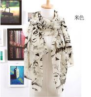 Vintage beauty head series scarf marilyn monroe pattern chiffon aesthetic silk scarf 70*70cm