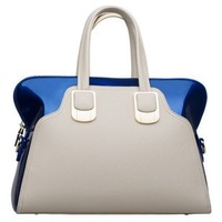 One shoulder handbag messenger bag fashion handbag women's 2014 all-match candy color block