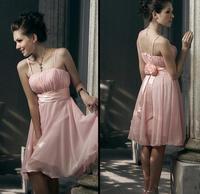 Halter-neck formal dress bridesmaid dress bridesmaid short  toast the bride formal dress short skirt
