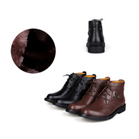 Free Shipping 2013 Winter High Quality Europe Stylish Cool Man Martin Boots EU39-44 Casual Man Winter Leather Shoes 2735137