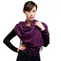 Warm cashmere scarf brief elegant fashion scarf cape dual spring and summer season
