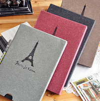 Vintage Eiffel Tower Paris Antique DIY PHOTO ALBUMS Scrapbook Paper Crafts picture photograph album for memory 28pages