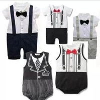 2013 Baby Rompers girls' romper boys' bodysuit outfits cotton coverall romper infant leotard climbing vest bag fart garments