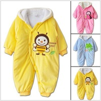 2014 new year baby rompers autumn and winter christmas baby romper animal style/boy girl jumpsuits/kids bodysuits