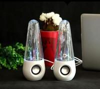 Fashion personality water audio mini portable computer mobile phone mp3 audio water jet usb mini speaker