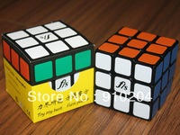 Free shipping!New Funs Puzzle/Fangshi ShuangRen 57mm  3x3 speed Cube Puzzle Black