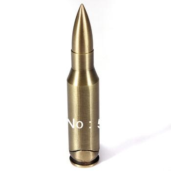 New Vintage Bullet Shaped Metal Refillable Jet Flame Cigarette Cigar Gas Lighter 1pcs