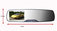 Car Black BOX 1080P Car Rear view Mirror Parking Back Up DVR CAMERA HD 1080P G-SENSOR Car Black Box