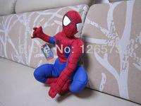 30cm plush spiderman plush toys soft toys stuffed toys birthday presents one piece free shipping