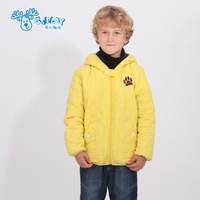 Goplay2013 winter children's clothing with a hood male child wadded jacket outdoor cold-proof thermal plus velvet cotton-padded