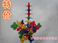 innovative items Fight inserted blocks plastic building blocks desktop toys kindergarten toy flower toy building blocks