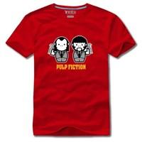 Dj t-shirt series 2 100% Men short-sleeve cotton t-shirt