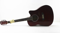 41 inch folk log lubricious acoustic guitar singing standard high-grade missing Angle single piece or wholesale