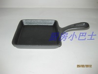 Cast iron pot cast iron frying pan steak pan omelette pan 13.5cm