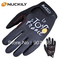 Hot Sale Witer Full finger Tour-de France cycling gloves Bicycle Bike  gloves Size : M,L,XL