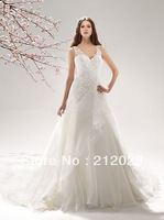 New White/Ivory Bride Wedding Dress Custom Size 2-4-6-8-10-12-14-16-18-20-22-24+