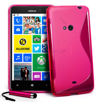 100pcs/Lot TPU S  Line GEL Case Cover for Nokia Lumia 625