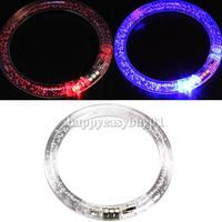 Transparent Bubble LED Flashing Color Changing Bracelet Glow Bracelet H1E1