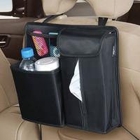 Seiwa car seat glove bag rear car tissue box set car sundries bag storage bags
