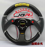 New arrival modified car steering wheel carbon fiber automobile race momo steering wheel PU steering wheel