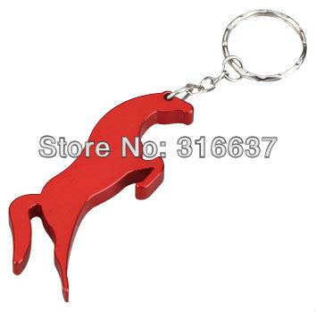 Wholesale Horse Shape Bottle Opener Small Pendant Beer Bottle Opener For Customized(China (Mainland))