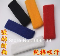 Best seller sports safety sweatband multicolor head band sweatband wholesale mix order 10PCS/LOT free shippng