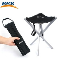 Outdoor ultra-light aluminum alloy folding stool,mini portable folding chair,small mazar free shipping