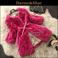 Fur coat rex rabbit hair winter 2013 anti season women's medium-long fur