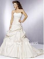 High Quality!  White Ball Gown Wedding Dresses Wedding Attire Dresses Pageant Dress Custom Made Size 2-10 12-20 JLW923328