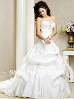 High Quality!   White Ball Gown Wedding Dresses Wedding Attire Dresses Pageant Dress Custom Made Size 2-10 12-20 JLW923330