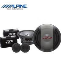 Alpine 6 set speaker spr-17s double car speaker 6.5 car speaker bag